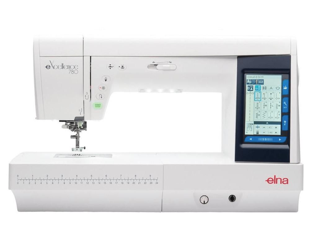 ELNA 780 EXCELLENCE – MAQUINA DE COSER ELECTRÓNICA PROFESIONAL