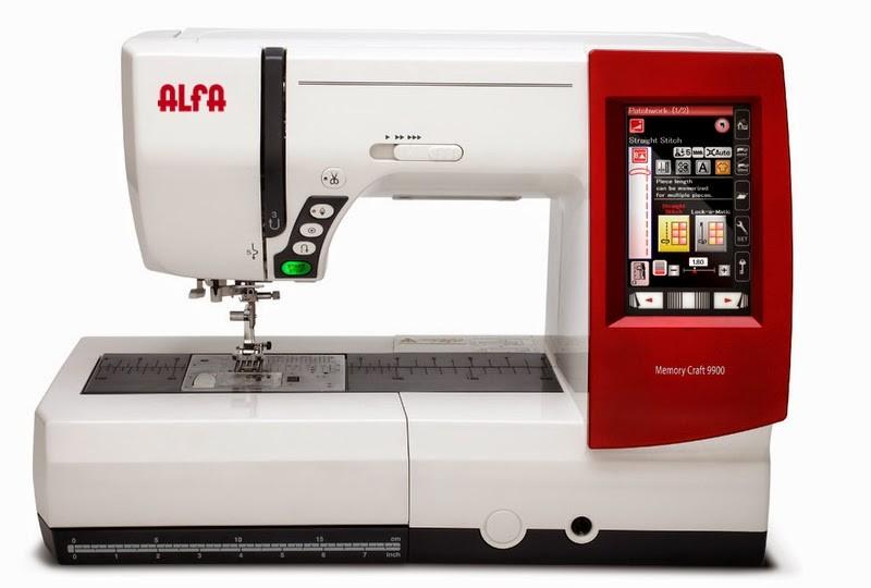 ALFA MC 9900 - MÁQUINA DE COSER Y BORDAR + PROGRAMA DE PICAJE INTERMEDIO (REGALO)